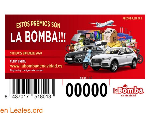 SORTEO LA BOMBA DE NAVIDAD - 2