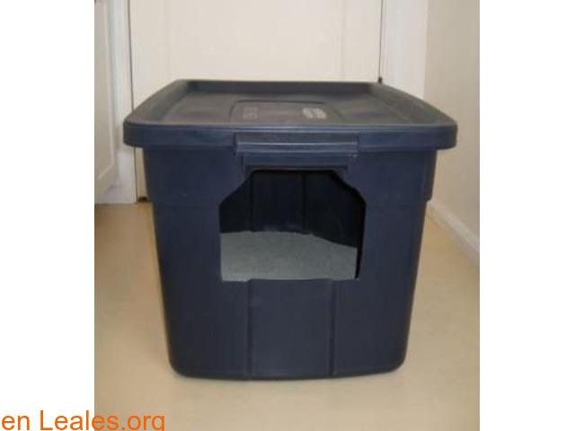 Areneros caseros, ocultos o limpiables - 1