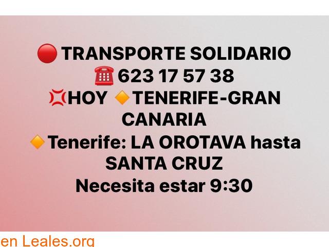 TRANSPORTE TENERIFE -GRAN CANARIA. - 2