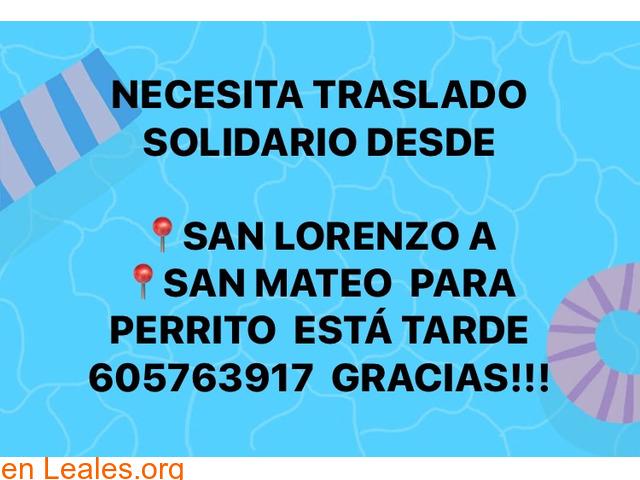 URGE TRASLADO  SAN LORENZO- SAN MATEO. - 1