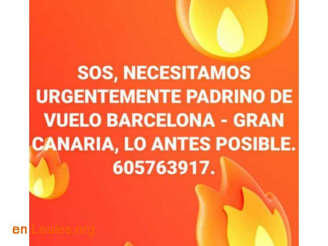 PADRINO DE VUELO: BARCELONA-GRAN CANARIA - 2