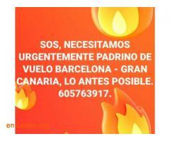 PADRINO DE VUELO: BARCELONA-GRAN CANARIA - Imagen 2